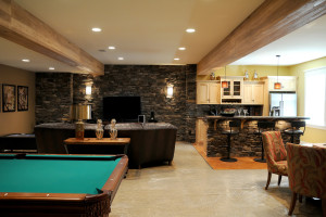 finished basement picture for project spotlight